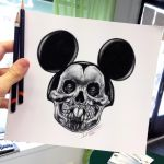 Quick Mickey Sketch by AtomiccircuS