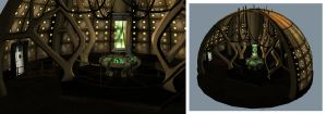 TARDIS_Interior by Scarecrovv