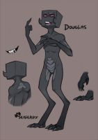 Douglas the Enderman by SeaGerdy