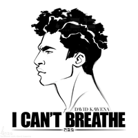 I CAN'T BREATHE by davidkawena