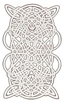 Celtic knotwork by MozDynamite