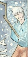 Jack Frost Bookmark by Doodlee-a