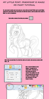 MLP FIM MS Paint Tutorial by Busoni