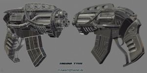 Heavy Revolver by MrCash87