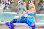 Love Live cosplay: Mermaid Eli Ayase II by Adurnah