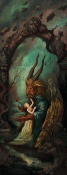 Beauty and The Beast by faxtar