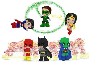 DC Justice League by Ben2DJammin