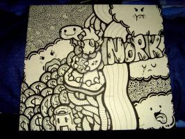 Mr.Norky and The Clouds by Icono-Graphic