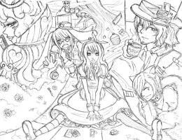 Alice in wonderland? by Ragginess