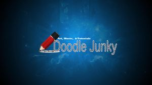 Doodle Junky Logo Banner for my Youtube Channel by mrreallydeviant87