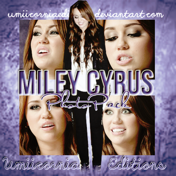 Photopack #04|Miley Cyrus by UmiicorniaEditions