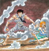 one piece., by heivais