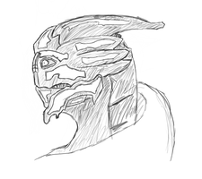 Turian Sketch by Rostov-na-don