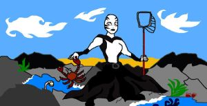 Ventress rockpooling by Caranth