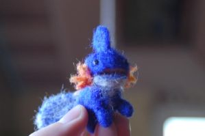 Mudkip. i herd u liek him. by ReinardFox