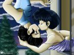 Moonlit Kiss - Ranma 1/2 by ladybattousai