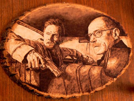 Breaking Bad - Wood Burning by brandojones