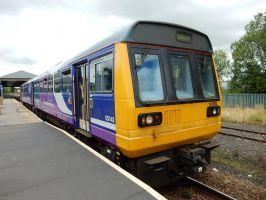 Northern Pacer 142.093 at North Road by rlkitterman