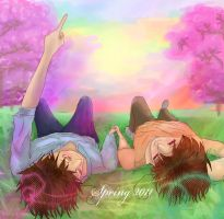 APH - Spring Rainbows by natersal