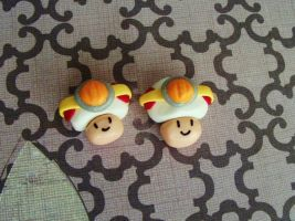 Captain Toad magnets by chaobreeder16