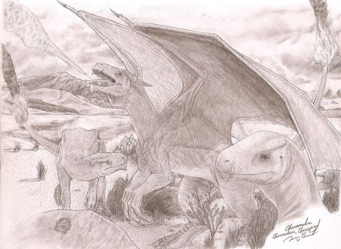 Charmander to Charizard, Raw by Crackdtoothgrin