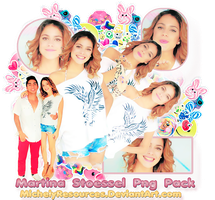 Pack png 230 Martina stoessel by MichelyResources