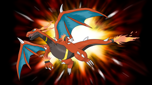 Mega Charizard (pre-reveal fan made)