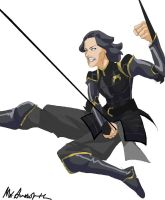 Lin Beifong by MrAwesome45