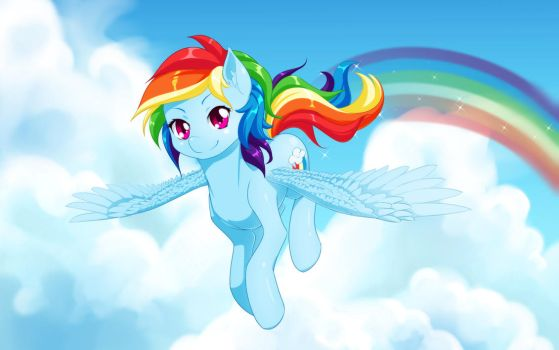 Rainbow Dash by dstears