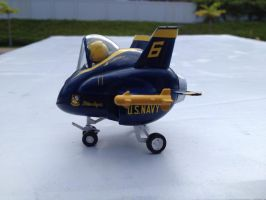 f/a 18 hornet blue angels egg plane by Jetster1