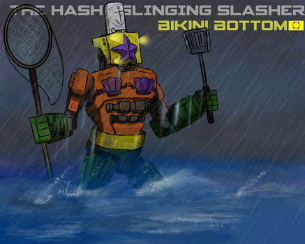 Pacific Rim-The Hash Slinging Slasher by cat-gray-and-me78