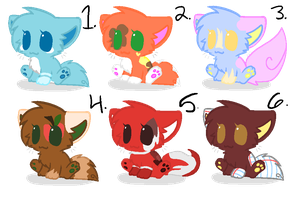 ( CLOSED ) Cat Adopts by BlazefireAdopts