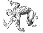 Spidey supasketch by artistjerrybennett