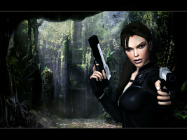 Lara Croft: Tomb Raider by Halli-well
