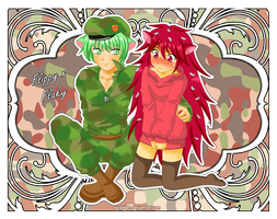 Flippy x Flaky by KyubiKen