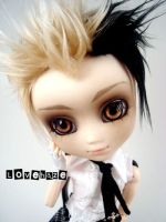 Custom pullip:  Cain once more by lovehaze