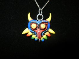 For Sale: Majora's Mask Pendant by skipperofotters05