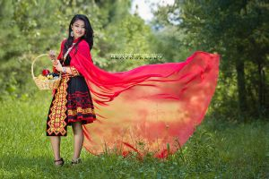 Hmong Red Riding Hood by HouaVang
