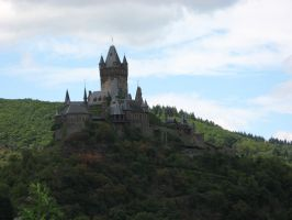 Rhineland Castle stock 01 by Castlemoor-stock