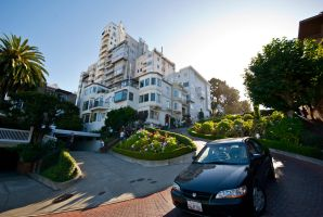 Lombard St spinned me round II by dantordjman