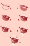 Lips - Tutorial 2# by Kipichuu