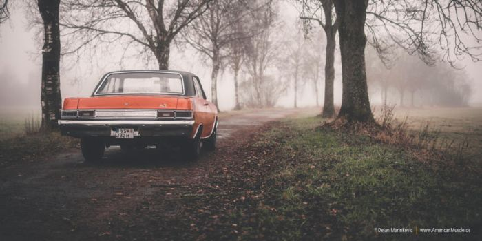 dart in the fog by AmericanMuscle