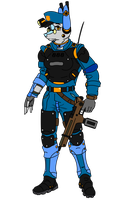 MKIII Steameroid Light Infantry Alpine Unit by KirovRampager