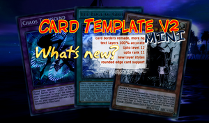Yu-Gi-Oh! Card Template v2 [MINI] by CelticGuard
