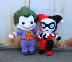 Harley and Mr. J by aphid777