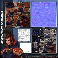Magdalena Final Texture Sheet by Arta