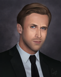 Ryan Gosling portrait by Empsuli
