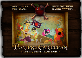 PONIES OF THE CARIBBEAN by James-B-Roger