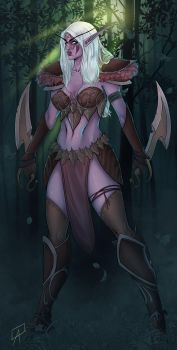 Night Elf by CallofTheDeep