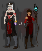 Character Redesign: Solona Amell by CCNCC